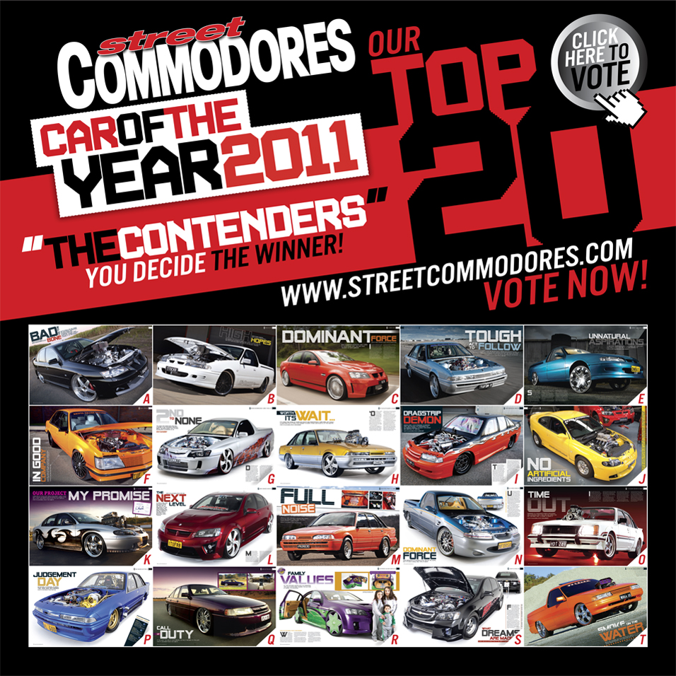 No Credit Car Loans >> STREET COMMODORES CAR OF THE YEAR 2011 – Cronic Customs